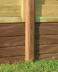 eco fencing maintenance free fencing lightweight and. Black Bedroom Furniture Sets. Home Design Ideas