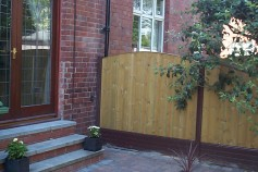 Timber Panel In Classic Brown
