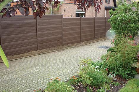 Upvc Fencing Panels Plastic Garden Fencing Panels