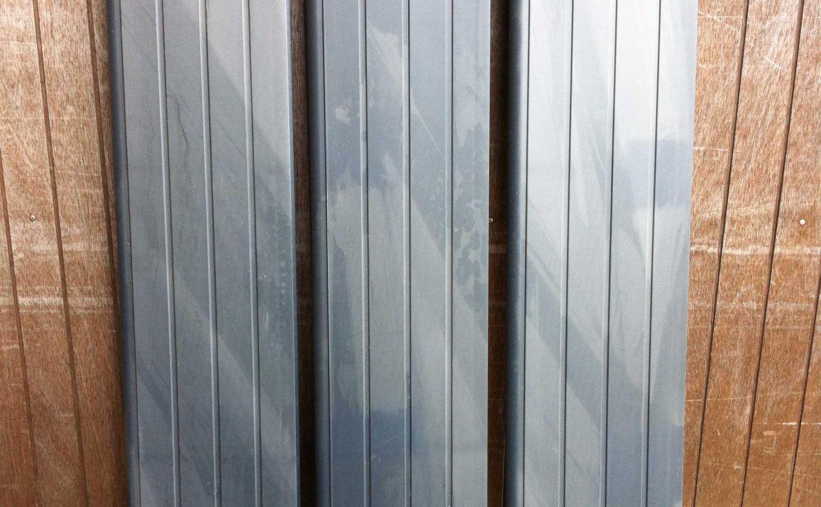 Eco Woodgrain Gravel Boards Pvc Fencing System Plastic